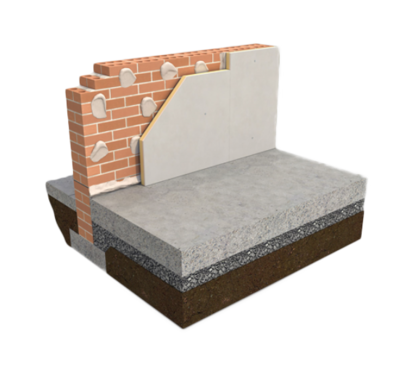 XTRATHERM THERMAL LINER 62.5MM - 2440MM X 1200MM BOARD (DAB)