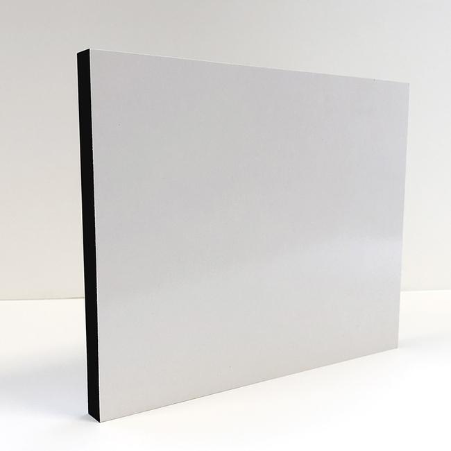 15mm Adhesive Coated Photo Block Black Edged 10x8 - Acorn Framing