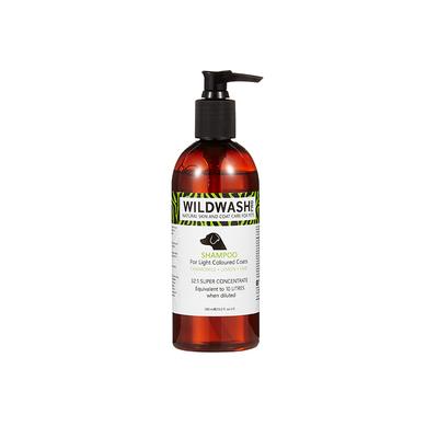 WildWash Pro Shampoo Light Colour Coat 300ml