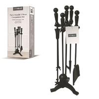 Black Turn Handle Companion Set 18""