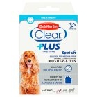 Bob Martin Flea-Clear PLUS Spot-On Medium Dog Flea Drops 1 Tube x 1