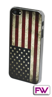 FWIP506001 iPhone 5 American Flag 3D