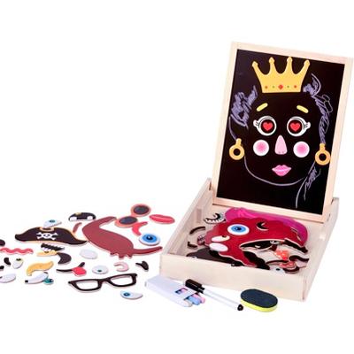 Magnetic Faces Activity Box - blackboard