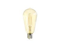 7w LED-E ST64 Filament E27 Dimmable 2200K Clear