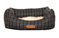 Ralph & Co Nest Bed - Ascot Black Tweed Large x 1