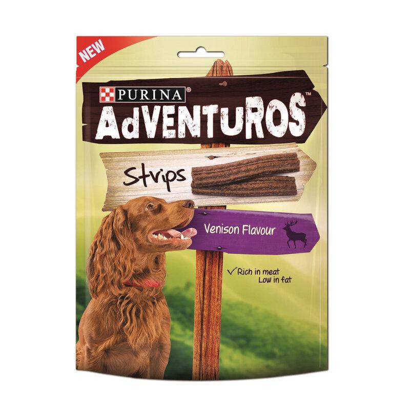 Nestle Purina Adventuros Strips Dog Treats 6 x 90g
