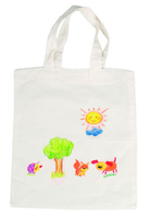 Paint Your Cotton Bag Large. (Priced in singles, order in multiples of 10)