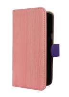 FOLIO1204 Samsung J3 Pink & Purple Folio