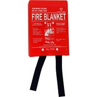 FIREBLITZ FIRE BLANKET 1Mtr X 1Mtr