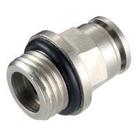 BSPP Male Stud Metal Push In