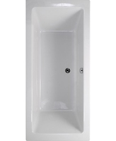 SONAS PLANE DOUBLE ENDED EXTRA DEEP BATH 1600MM X 700MM X 420MM