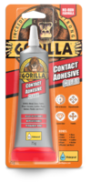 GORILLA CONTACT ADHESIVE CLEAR 75 GRM TUBE