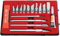 Amtech 17Pc Hobby Knife Kit 36/6 C
