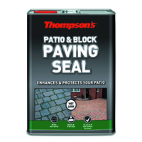 THOMPSONS PATIO & BLKOCK PAVING SEAL WET LOOK 5 LTR