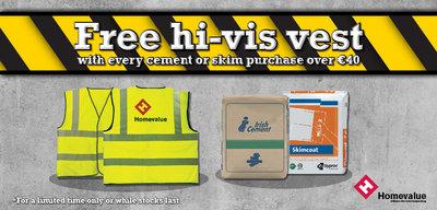Homevalue Campaign - Free Hi-Vis Vests Promotion