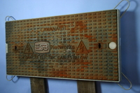 Cast Iron Single ESB Manhole Cover VC1 765 x 315mm B125