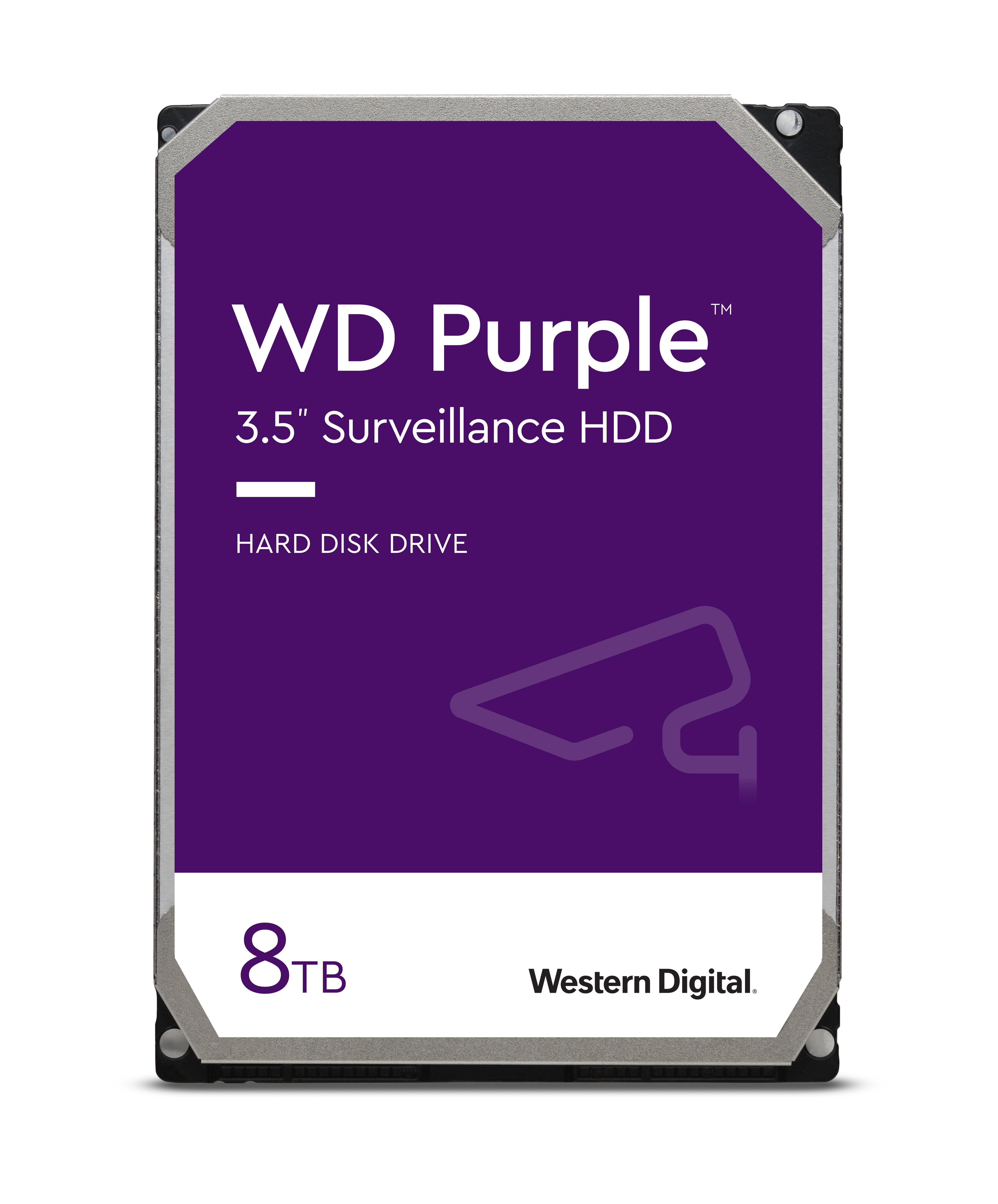 """8TB Western Digital Purple 3.5"""" Hard Drive"""