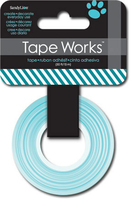 Tape Diagonal Stripes Teal (Priced in singles, order in multiples of 4)