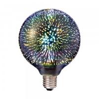 3w G125 LED 3D Filament E27 3000K
