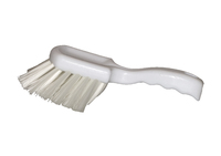 Gong Brush Nylon Fill White
