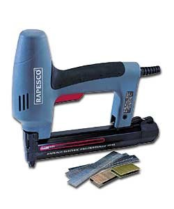 RAPESCO 191EL PRO 230VOLT NAILER & STAPLER (180/15-35MM NAILS) (91/15-30MM STAPLES)