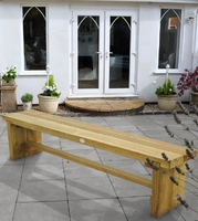 DOUBLE SLEEPER BENCH 1.8M - DSBEN18HD