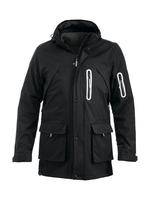 Clique Leland Black 3 in 1 Jacket