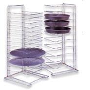 Pizza Stack Rack Chrome Plated 11 Slot