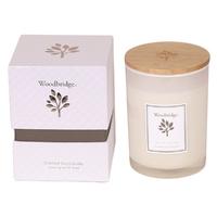 Woodbridge Medium Lemon Grass & Sage Soy Candle
