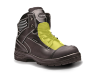 Rugged Terrain Black Waterproof Derby with Metatarsal & Scuff Cap S3 WRU HRO SRC