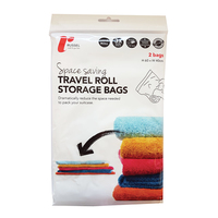2 Travel Roll Storage Bags
