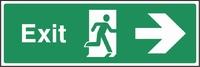Emergency Escape Sign EMER0012-0360