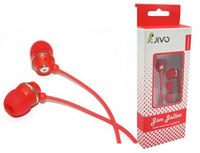 MP-3 iPhone Stereo Headset Strawberry Red