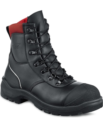 REDWING 3283 8'' BLACK SAFETY BOOT WITH COMPOSITE TOE