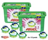 ARIEL 3in1 PODS c/6 FRESH SENSATIONS