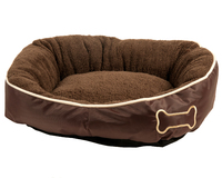Dog Basket Chipz Beige S 52X46X20Cm