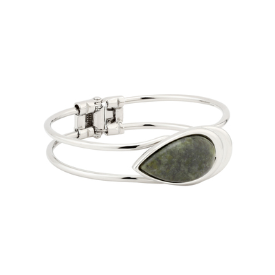 RHODIUM MARBLE BANGLE