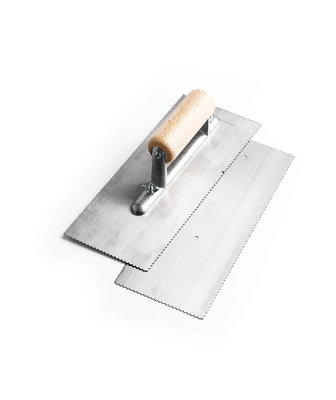 Adhesive Trowel Pack 1mm X 4mm ( Contents 2 X Blades & 1 X Handle )