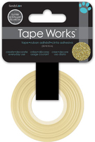 Tape Glitter Solid Gold (Priced in singles, order in multiples of 4)