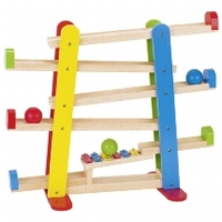 Ball track W/xylophone