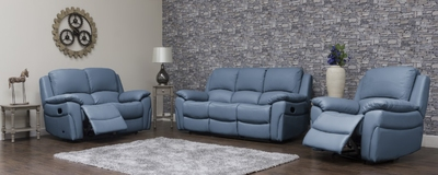 Serena Leather Sofa 2