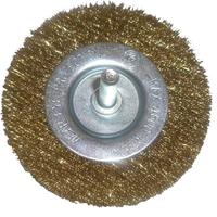 Vires 100m Wire Wheel Brush on spindle