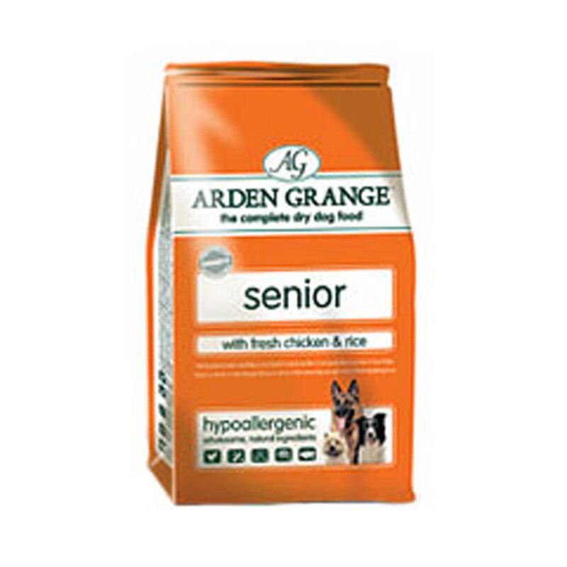 Arden Grange Chicken & Rice Senior Dog Food 6kg