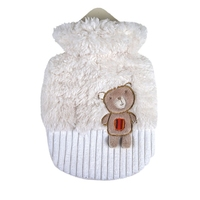 Children Small 0.8 Litre Hot Water Bottle Bear Piet
