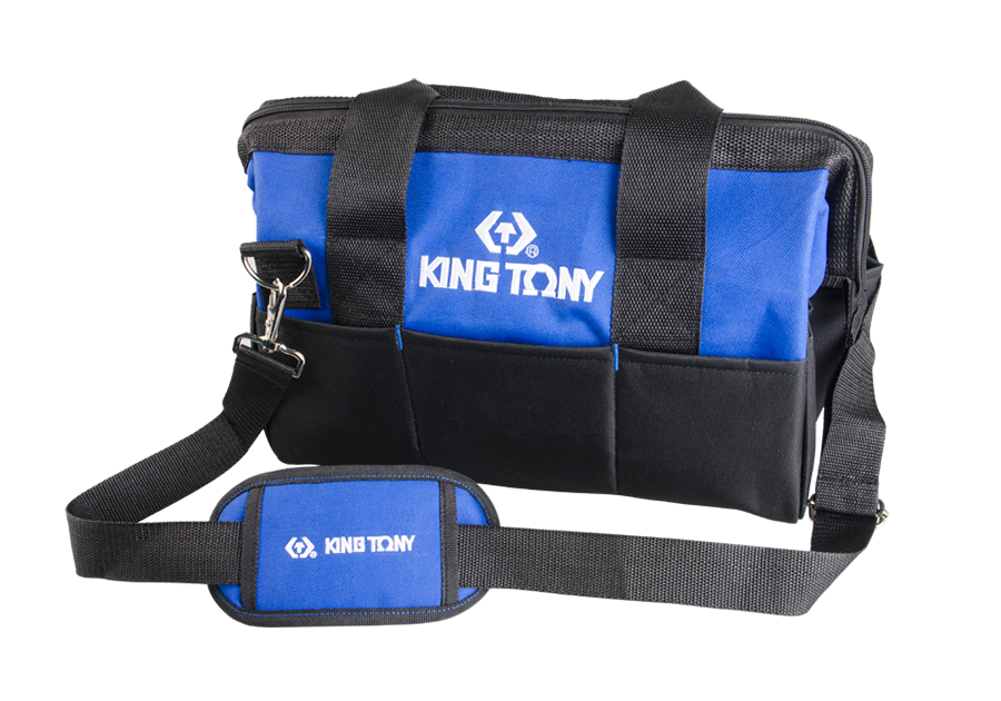 "King Tony 14"" Fabric Tool Bag     87721B"