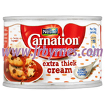 Nestle Carnation Extra Thick Cream 170g x12