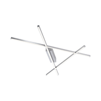 Paul Neuhaus Stick 2 Warm White 24W Stainless Steel LED Wall/Ceiling Light | LV2002.0012