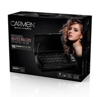 CARMEN PROFESIONAL VOLUMISING HEATED HAIR ROLLERS