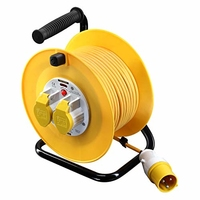 POWERMASTER CABLE REEL 25MTR 110 VOLT