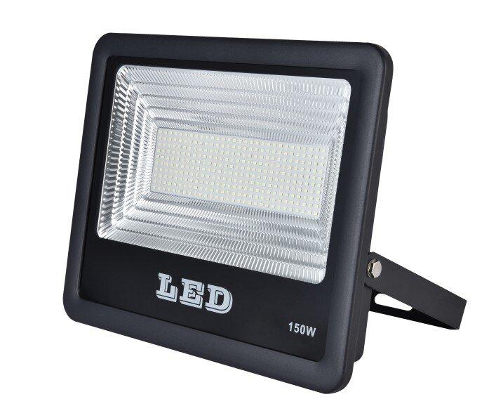 AURIGA 100W SLIM LED FLOODLIGHT BLACK COOL 6k